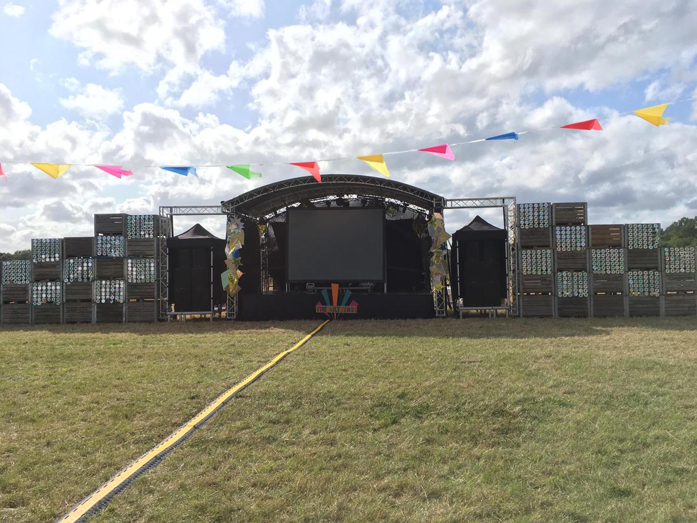 Ashtonbury Festival Stage 2019