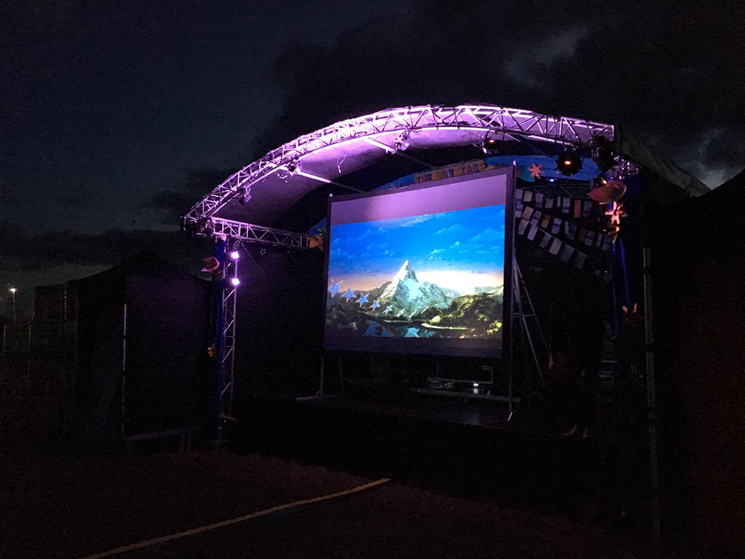 Outdoor Cinema Stage 2019