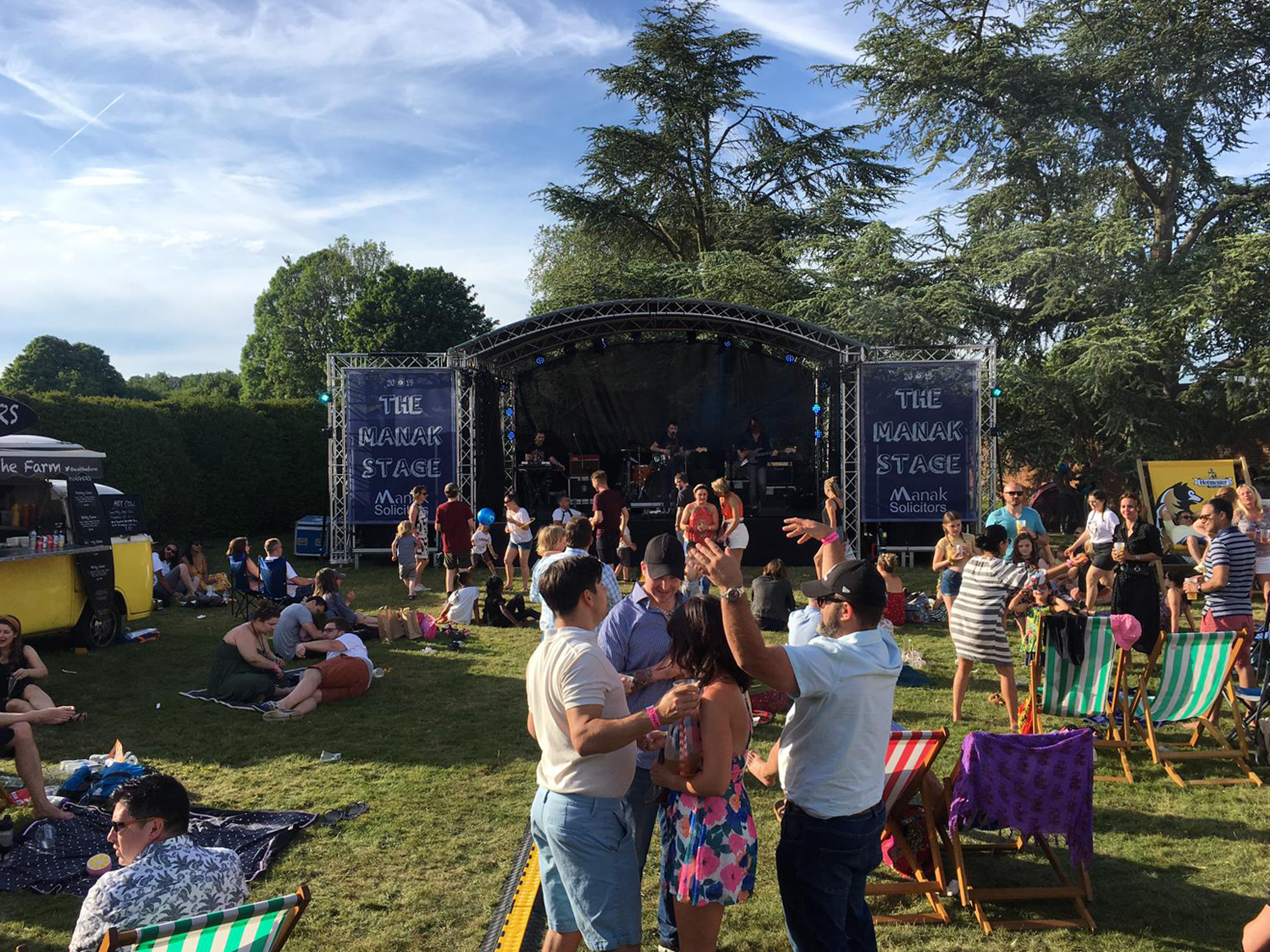 The Food Fest Festival Stage 2019