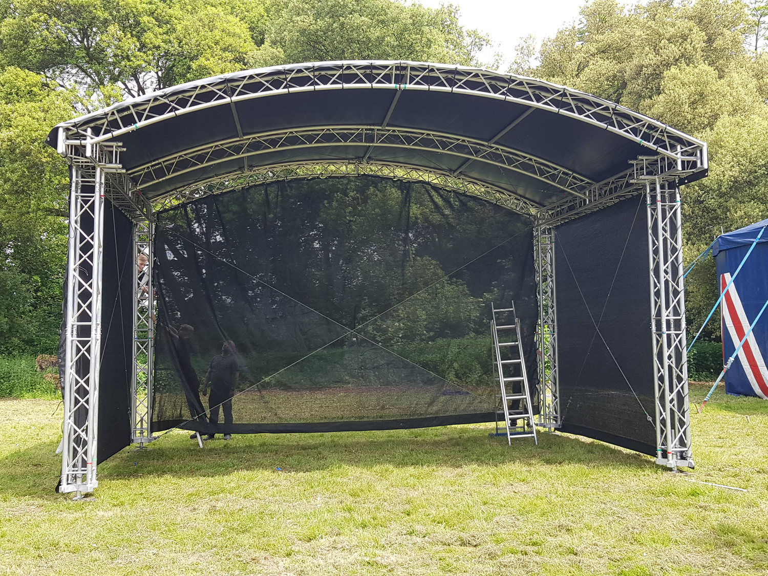 Festival Stage Build 2018