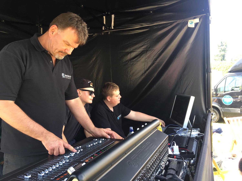 Bandshop Sound & Light Tech Crew