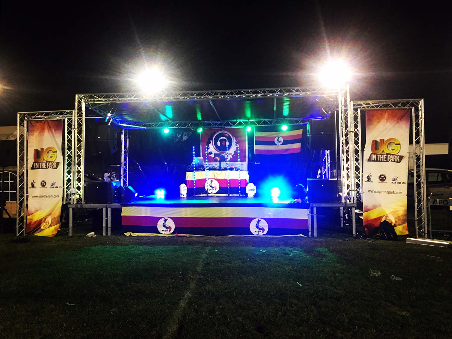 UG in the Park Festival Stage 2019