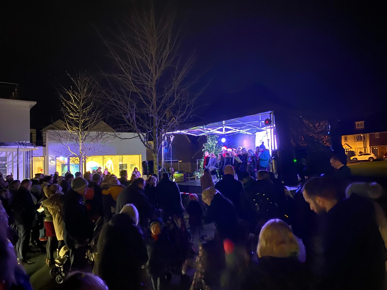 Christmas Gazebo Stage 2019